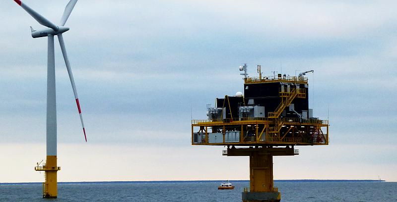 UVS zu Offshorewindpark-Seekabeln